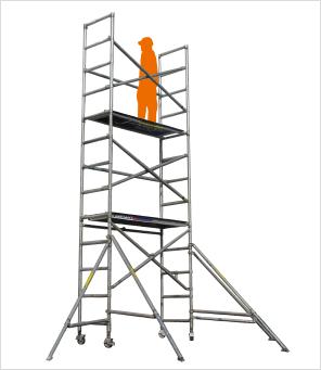 アルミ製ローリングタワー